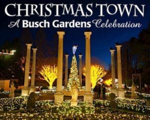 busch gardens christmas town tickets